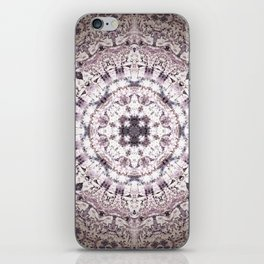 MAUVE MANDALA iPhone Skin