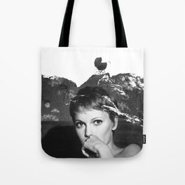 Mia Farrow Tote Bag