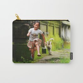 Bali - Girl Running Carry-All Pouch