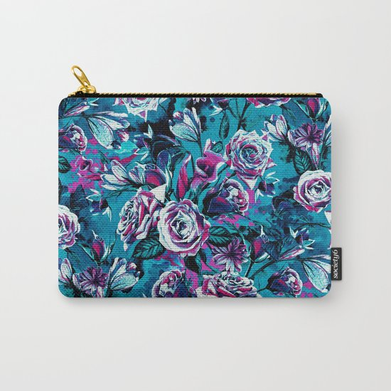 RPE FLORAL VIII BLUE Carry-All Pouch