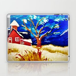 Winter In The Country Laptop & iPad Skin