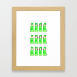 Hara Hara Pakola, Ice Cream Soda Framed Art Print