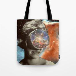 Space Gaze Tote Bag