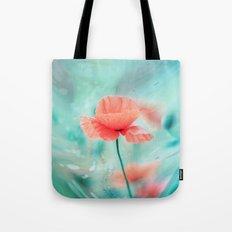 Fantasy Garden - Poppy Dream  Tote Bag