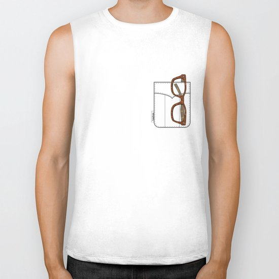Pockets - The Hipster - Biker Tank