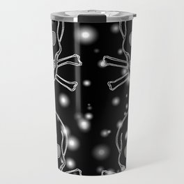 SPARKLEY SKULLS Travel Mug