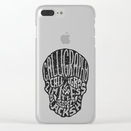 SKULLGRAM Clear iPhone Case