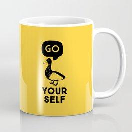 Go Duck Yourself Coffee Mug