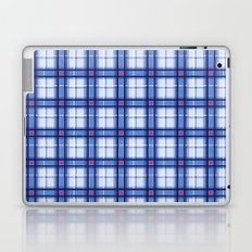 Blue Plaid Laptop & iPad Skin