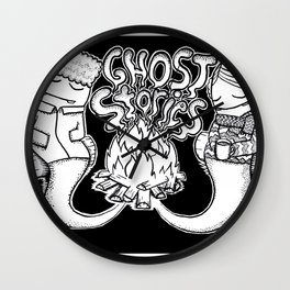 Ghost Stories Wall Clock