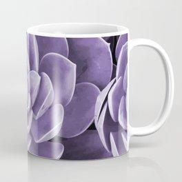 succulent Blossom violet color Coffee Mug