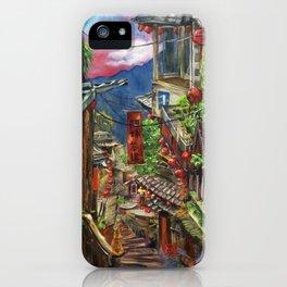 Jiufen iPhone Case