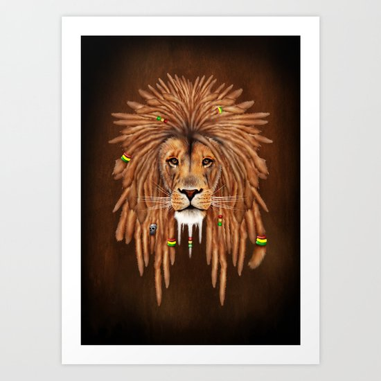 Dreadlock Lion by digitalizedteam