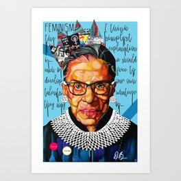 Ruth Ginsburg Art Print