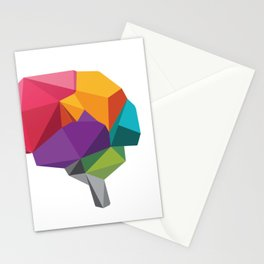 creative brain Stationery Cards