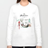 venice Long Sleeve T-shirts featuring Venice by Volha