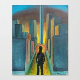 """The Diverge"" Canvas Print"