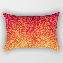 Fractal Gradient FIRE Rectangular Pillow