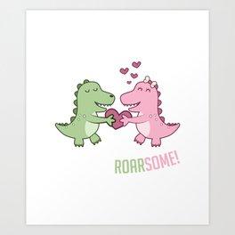 Roarsome Gift Art Print