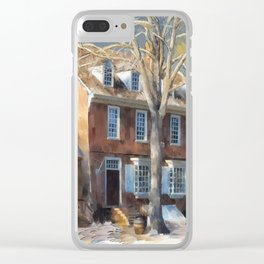 As Winter Melts Into Spring Clear iPhone Case