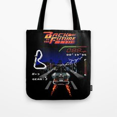 Back to the Videogame Tote Bag
