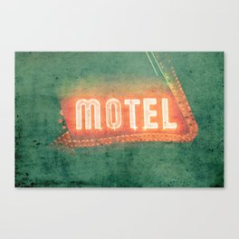 Old Motel Canvas Print