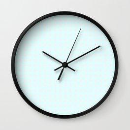 Girly Dots Wall Clock
