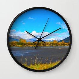 Fall at Portage Creek Wall Clock
