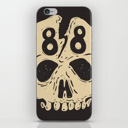 Born to hate in '88 iPhone Skin
