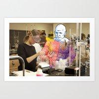 Living in the Material World: METAMORPHO Art Print
