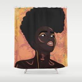 Asase Yaa, The Earth Goddess of Fertility Shower Curtain