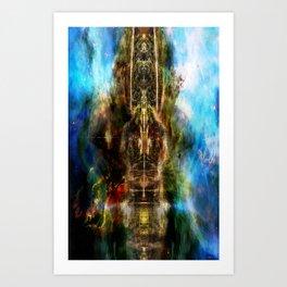 TotemNebula Art Print