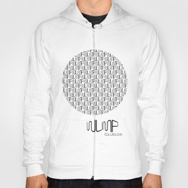 WUMP Collective Sphere in Black Hoody
