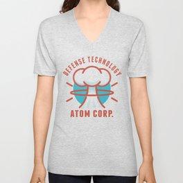 Atom Corp. Logo Unisex V-Neck
