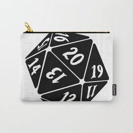 20 Sided Spindown die Carry-All Pouch