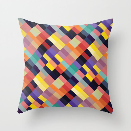 Geometri I Throw Pillow