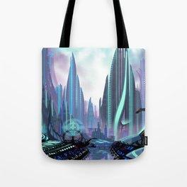 Transia City Tote Bag