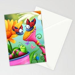 Optimistic Zoom Stationery Cards