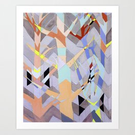 Repetition History Art Print