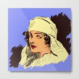 Nurse portrait WW1 Metal Print
