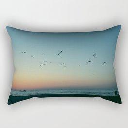 (Sun is) Gone Rectangular Pillow