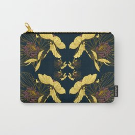 Art Nouveau Poppy Abstract Carry-All Pouch