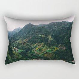 Paradise Mountain Rectangular Pillow