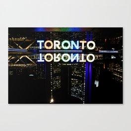 Toronto Nights Canvas Print