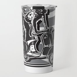 Monkey Riders Travel Mug