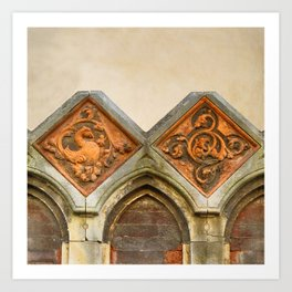 Venetian Architectural Elements Art Print