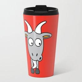 Ooh Zoo – farm-series, Goat Travel Mug