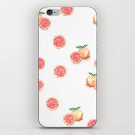 Grapefruit Pattern iPhone Skin