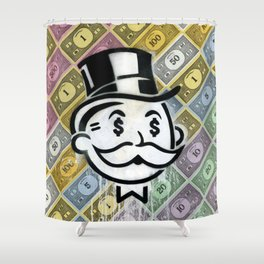 Another Day - Another Dollar Shower Curtain