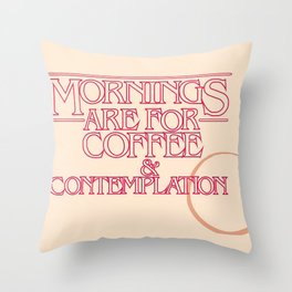 StrangerThings Throw Pillow